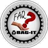 Bag-it FAQ button