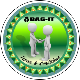 Bag-it Terms and Conditions button