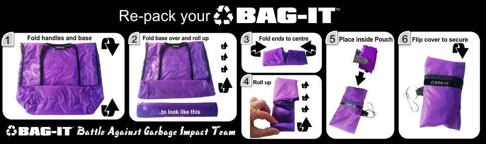Bag-it how to fold