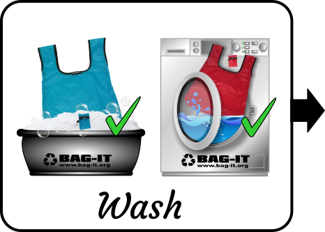 Bag-it wash
